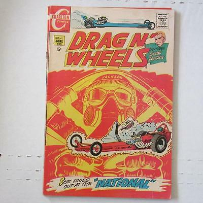 Drag N' Wheels (Charlton) 41 FN/VF  SKU17348 25% Off!