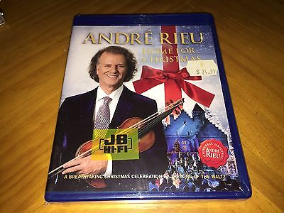 Andre Rieu - Home for Christmas [Blu-ray, All Regions] André Brand New & Sealed