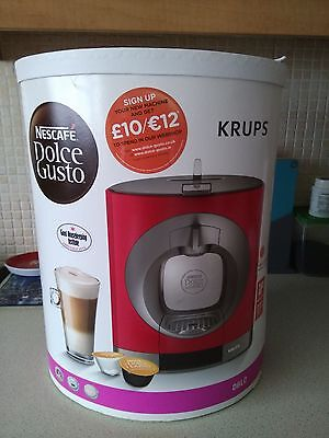 Krups Dolce Gusto Oblo Coffee Maker Reviews : Krups XN300640 2 Cups Coffee Maker - Red ?4.99 - PicClick UK