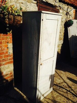 Old Small Antique Vintage Wooden Wardrobe