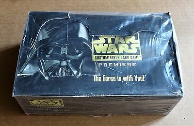 STAR WARS CCG PREMIERE UNLIMITED EDITION SEALED BOX OF 36 x 15 CARD BOOSTERS