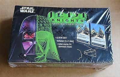 """STAR WARS CCG  """"JEDI KNIGHTS"""" LIMITED EDITION SEALED BOX OF 36 x BOOSTER PACKS"""