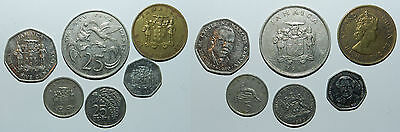 6 Coins From Jamaica