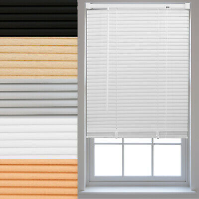 PVC Venetian Window Blinds FREE Cut to Size Home Office Blind New