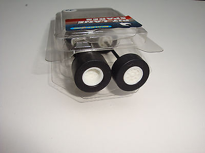 New Scalextric Wheels And Axles Complete With Tyres,  Pit Lane Spares No32