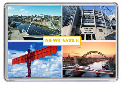 Newcastle Fridge Magnet 03