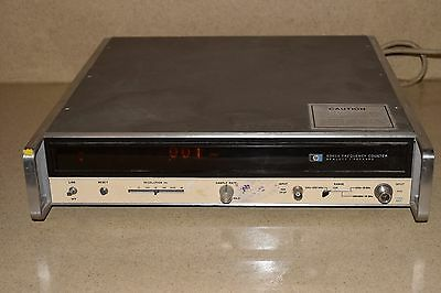 HP AGILENT MODEL #  5340A DIGITAL FREQUENCY MICROWAVE COUNTER 18GHz