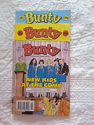 Bunty picture story library 3 issues