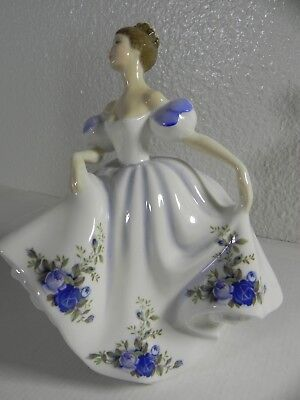 "Royal Doulton 7.5"" Figurine HN3263 ""Beatrice"", Peggy Davies 1989 Mint Condition"
