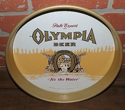 """Olympia Beer Vintage Advertising Tray Sign 13"""""""