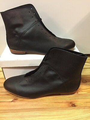 High Country, Size 11 W WOMENS Clogging Dance boots, Shoes, (no Taps) Black