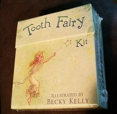 Tooth Fairy Kit Tooth Pouch, Treasure Box, Fairy Journal New