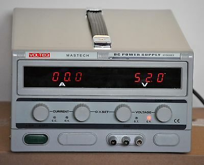 Volteq Variable DC Power Supply HY5020EX 50V 20A Over-Voltage Protection