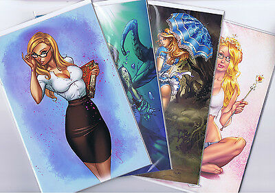 Grimm Fairy Tales Call Of Wonderland Bluerainbow Exclusives Set Of 4  Nm 1 2 3