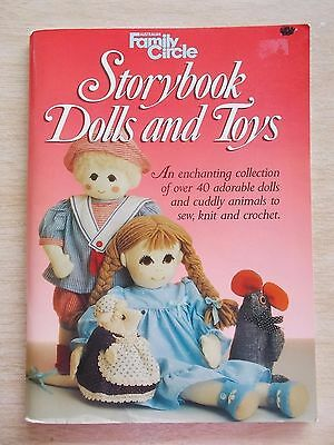 Family Circle~Storybook Dolls & Toys~Sew~Knit~Crochet~40+ Projects~Patterns