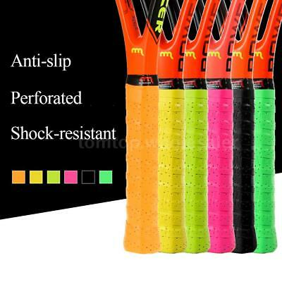 Pack Of 3 Tennis Racket Overgrips Anti-Skid Sweat Tape Racquet Grip Wraps Z6G4