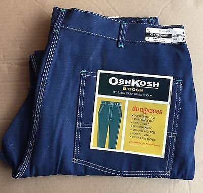 vtg deadstock Oshkosh B'gosh denim carpenter pants work wear Jeans  40 x 28