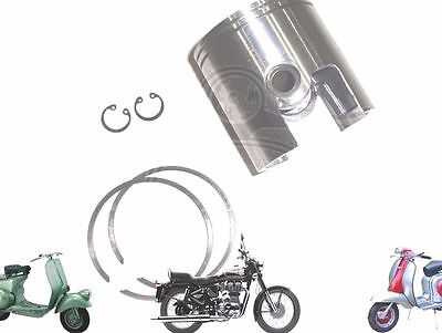 LAMBRETTA GP LI SX TV 200CC PISTON KIT 66.60 mm WITH 2 X 1.5 RINGS @AUS
