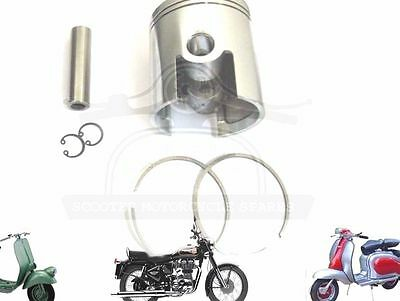 Lambretta 185 Cc Performance Piston Kit 65.00 Mm & Thin 1.50 Mm Rings @aus