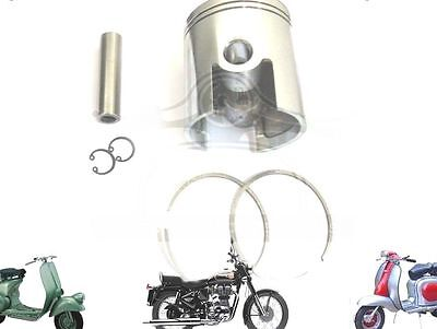 LAMBRETTA 185 CC PERFORMANCE PISTON KIT 64.20 mm & THIN 1.50 mm RINGS  @AUS