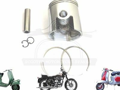 Lambretta 185 Cc Performance Piston Kit 64.00 Mm & Thin 1.50 Mm Rings @aus