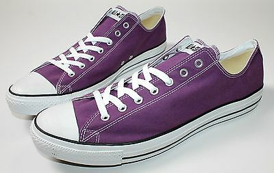 CONVERSE  Chuck Taylor ALL STAR  OX CAN PURPLE  Sneaker AJ625 Gr. 53  UK 17  NEU