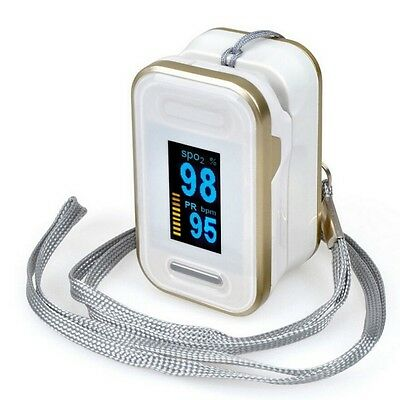 Finger Tip Pulse Oximeter Blood Oxygen meter SpO2 Heart Rate Monitor 3 Colors