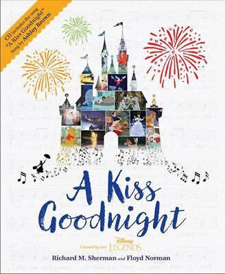 Kiss Goodnight by Floyd Norman Hardcover Book Free Shipping!