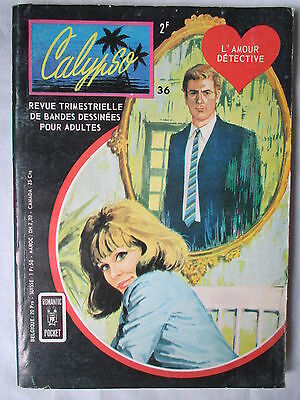 Calypso 36 L'amour Detective  Aredit 1970
