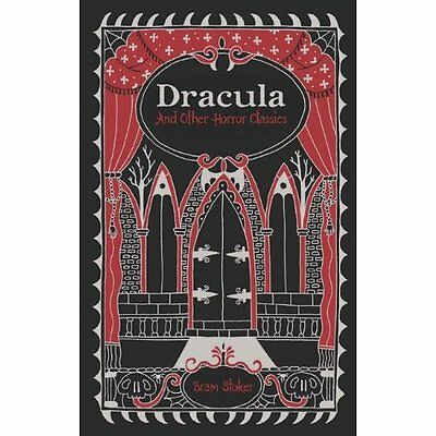 Dracula and Other Horror Classics (Barnes & Noble Leath - Leather Bound NEW Bram