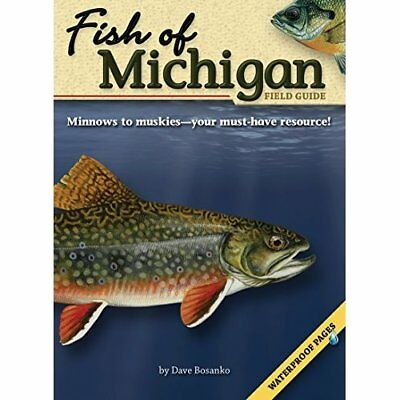 Fish of Michigan Field Guide (Fish of...) - Paperback NEW Bosanko, Dave 2007-04-