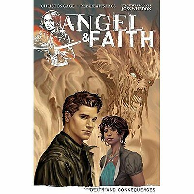 Angel & Faith Volume 4: Death and Consequences - Paperback NEW Isaacs, Rebekah 2