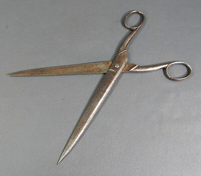 19c. ANTIQUE GERMAN SOLINGEN SEWING TAILOR DRESSMAKER SCISSORS SHEARS INSTRUMENT