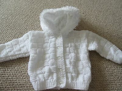 Brand New and Hand Knitted Baby Cardigan - Age 6-12 months onwards