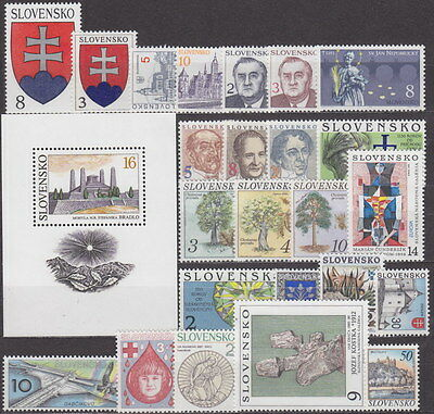 SLOVAKIA - 1993-1998 COMPLETE COLLECTION with SHEETS !! - **MNH** CHEAP !!