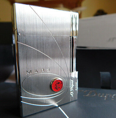S.T. Dupont Paris Limited Edition 2003 MARS Lighter Only 300 pieces BNIB 018313I