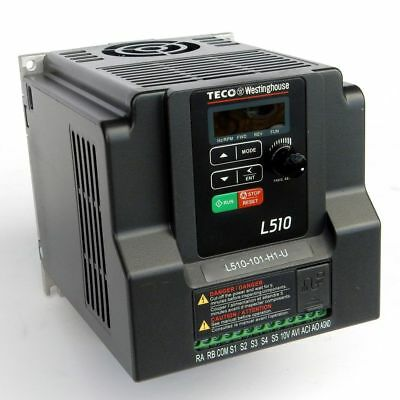 1 Hp 115V 1Ph Input 230V 3Ph Output Teco Variable Frequency Drive L510-101-H1-U
