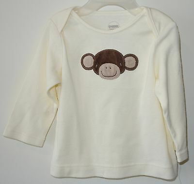 New Gymboree Brand New Baby Monkey Shirt Boy's Size 6-12 Month