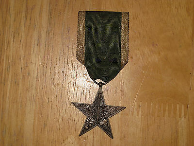 Fascist Italy Italian Medal Rural Merit Star SCARCE