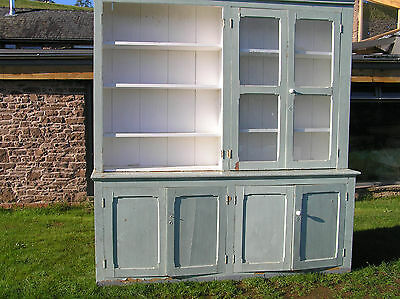 Very Large Victorian Bookcase  Country House Library Type / Dresser Base