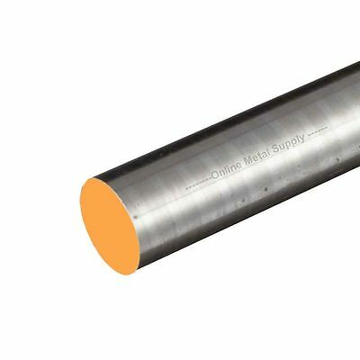 12L14 Steel Round Rod, Diameter: 0.875 (7/8 inch), Length: 12 inches