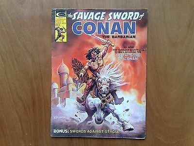 Savage Sword Of Conan The Barbarian #8 Oct 1975 Stan Lee  Roy Thomas N/fine