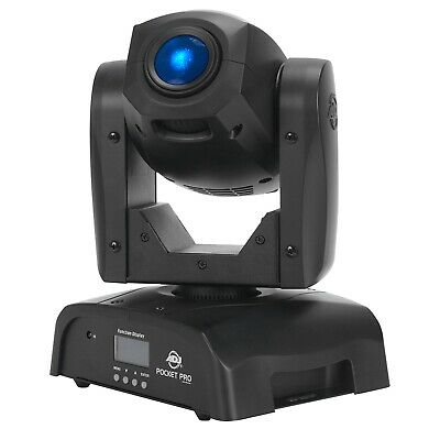 American DJ Pocket Pro High Output Mini Moving Head with a bright white 25W LED