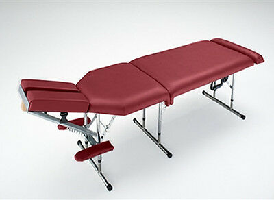 Deluxe Portable Chiropractic Table - Red