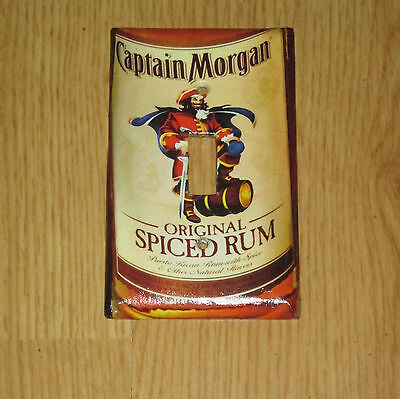 Vintage Style Captain Morgan Spiced Rum Pirate Light Switch Cover Plate