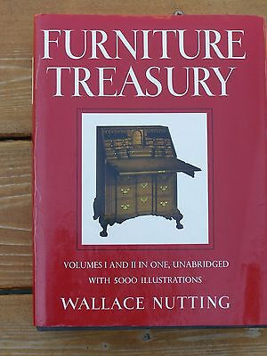 Furniture Treasury Volumes 1 & 2 by Wallace Nutting Antique & Primitive HC Book