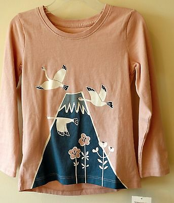 Brand New With Tags Tea Collection Peach Blush Tori Top Girl's 2