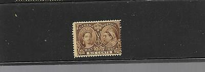 pk30004:Stamps-Canada #55 Queen Victoria Jubilee 6 Cent Issue - Used