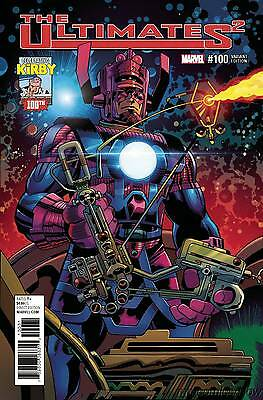 Ultimates 2 #100 Kirby 100 Variant Double-Size Issue! Marvel Comics 2017