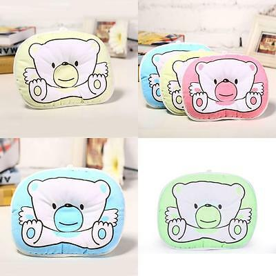 Cute infant pillow with pattern Bear prevent flat head